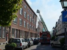 Twee brandweermannen gewond bij brand Zuidhoek