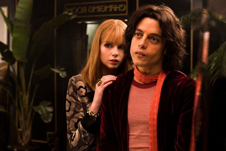 Lucy Boynton & Rami Malek in 'Bohemian Rhapsody'