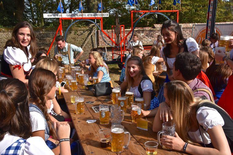 Oktoberfest Wevelgem - sfeerbeeld van de vorige editie