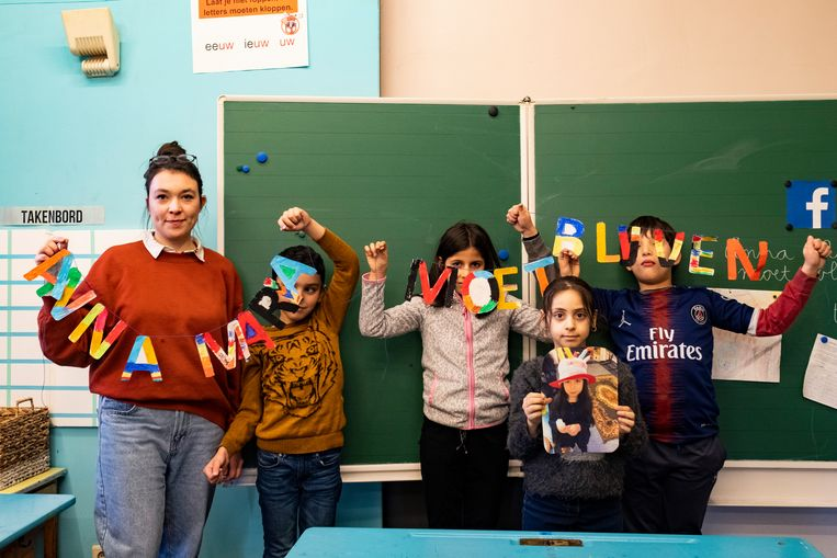 De Reuzenpoort, de school van Anna-Maria, zette al verschillende acties op poten om het meisje te steunen.