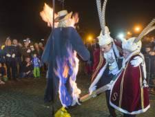 Brandende Veerman luidt einde carnaval in