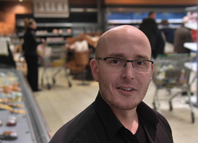 Arjen Vader, vierde generatie in het kruideniersvak.