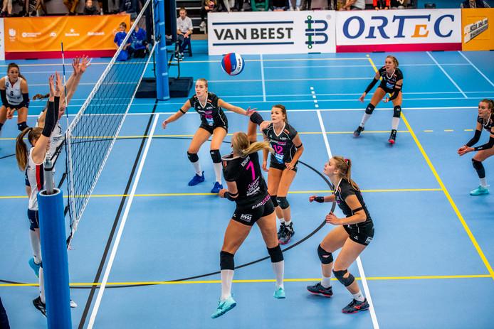 Daphne Knijff valt aan voor Eurosped in de strijd om de Supercup tegen Sliedrecht Sport