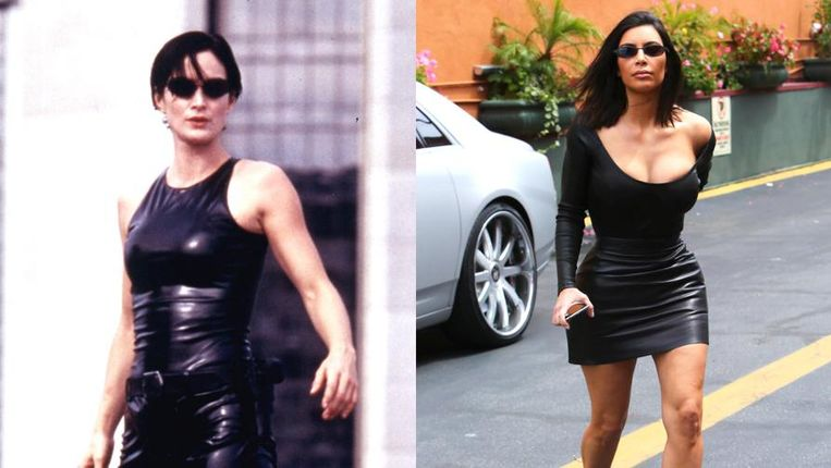 Trinity en Kim Kardashian.
