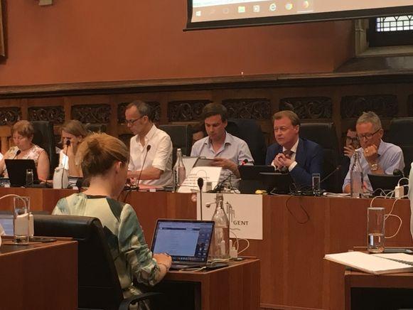 Voorzitter van de gemeenteraad voor deze maand: Christophe Peeters