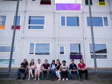 Statushouders en studenten trekken in wooncomplex Noord