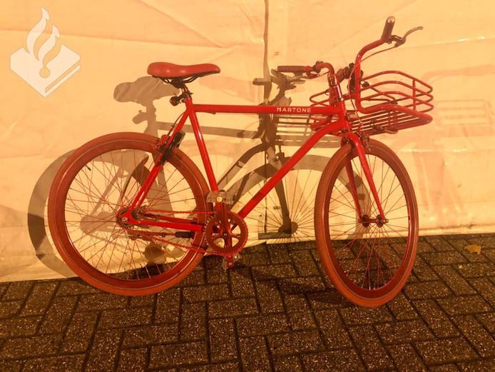 Een wel heel bijzondere fiets bleek gestolen te zijn.