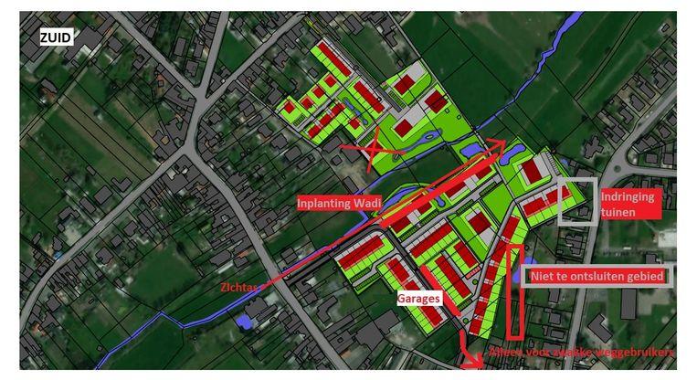 De controledienst van de Vlaamse Overheid stelde onregelmatigheden vast bij de toekenning van ruimtelijke vergunningen