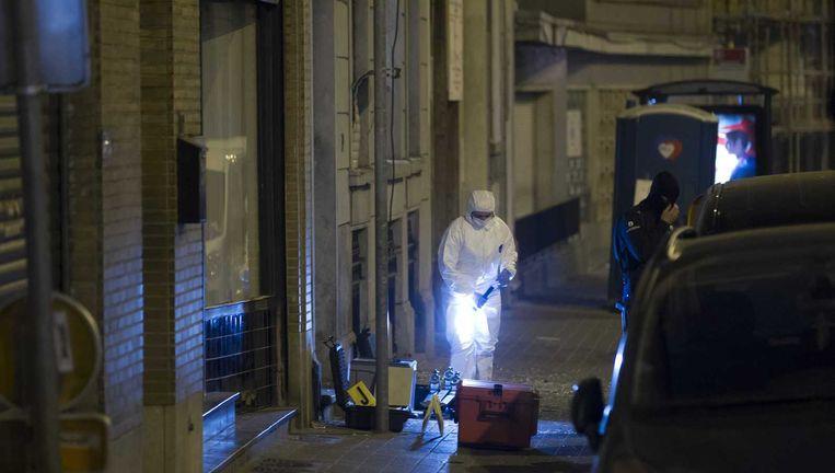 Politieonderzoek in Molenbeek. Beeld anp