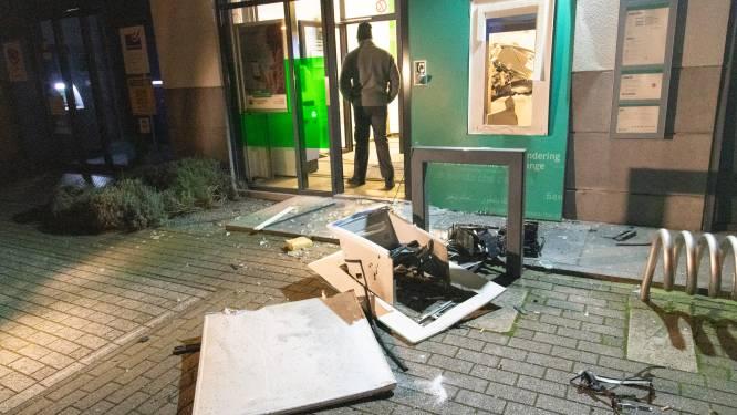 Plofkraak op bankkantoor in Stabroek: daders vluchten te voet weg met buit