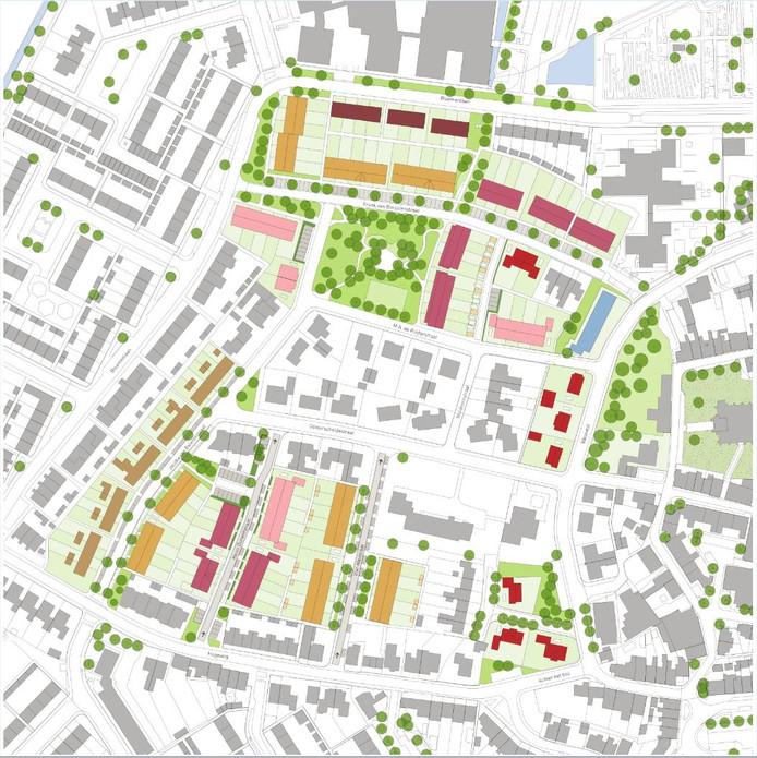 Sint-Maartensdijk West gaat de komende jaren gefaseerd op de schop.