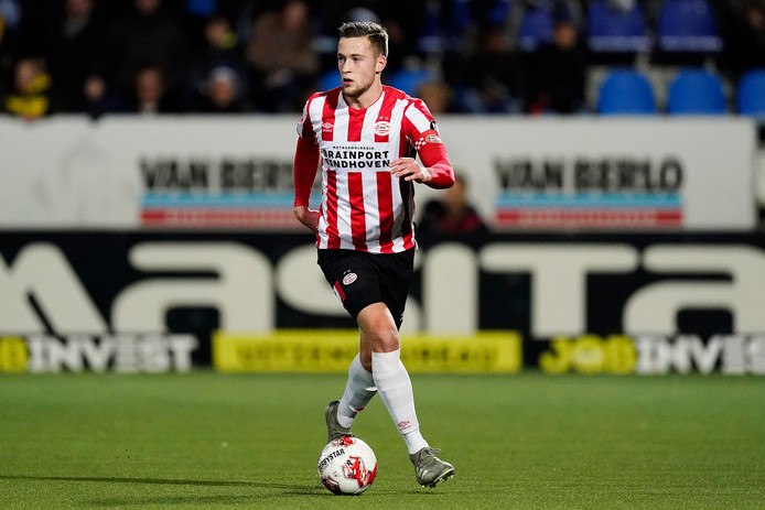 Justin de Haas, aanvoerder van Jong PSV.