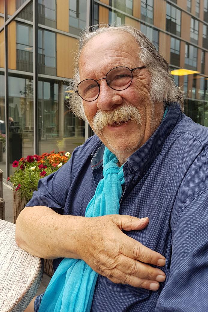 Het laatste portret van Thijs van der Molen, gemaakt op 18 juli 2019 in Breda.  Hij overleed ruim twee maanden later, op 29 september.