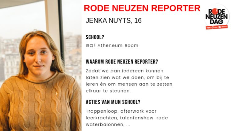 Rode Neuzen Reporters ID