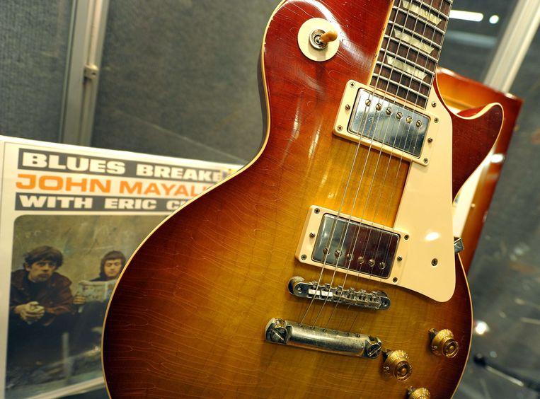 Een Gibson Les Paul van Eric Clapton