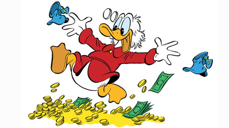 Donald duck drijft winst sanoma op trouw for Klantenservice sanoma