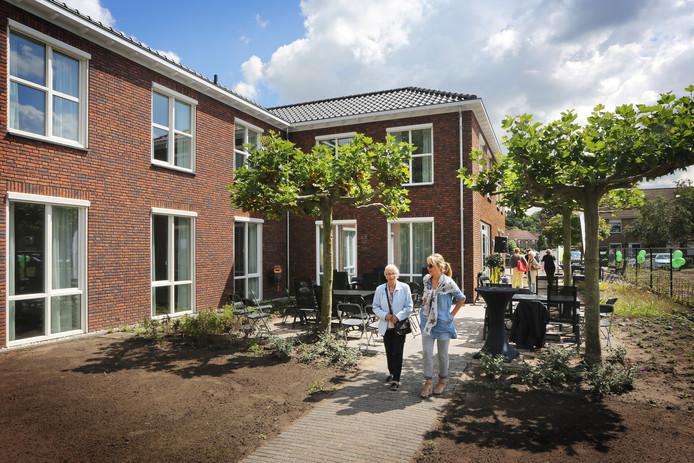 Kleinschalig verpleeghuis van Dagelijks Leven in Breda, nieuwbouw in Terneuzen is naar zelfde model ontworpen.
