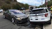 Opzettelijke explosies in elektrische auto moeten gevaarlijke schok bij een botsing voorkomen