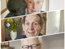 Jubilarissen Rinie, Fons en Frits zijn samen dik 200 jaar (!) lid van OSS'20