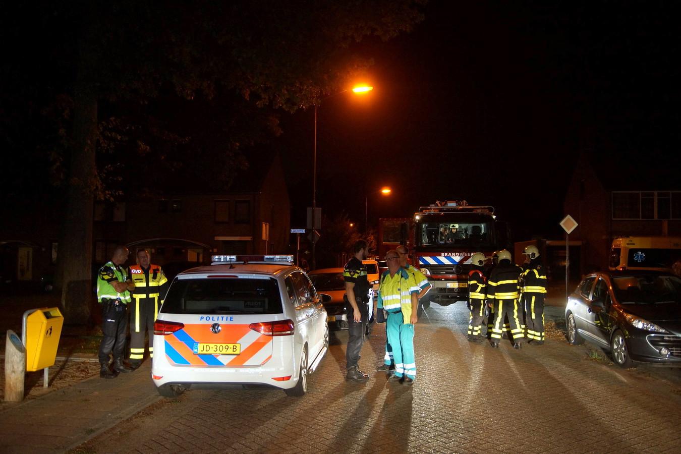 Brand in Kaatsheuvel.