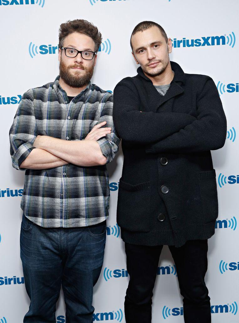 Seth Rogen (links) en James Franco Beeld getty
