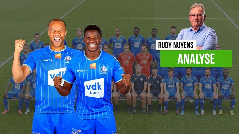 Rudy Nuyens over AA Gent.