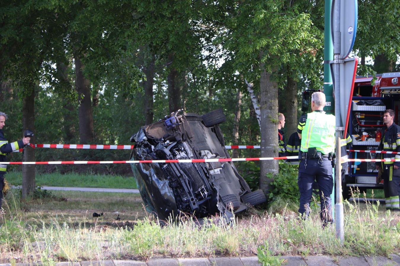 Twee gewonden door ongeluk in Odiliapeel.