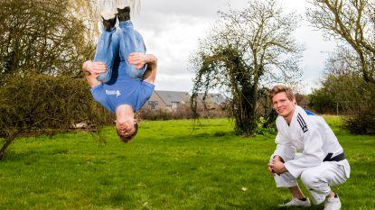 "Judoka Mathias ""Ik ben sterker"" Gymnast Robin ""Maar ik train harder"""