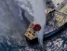 Une nouvelle catastrophe écologique évitée: le pétrolier en feu au Sri Lanka a pu être remorqué
