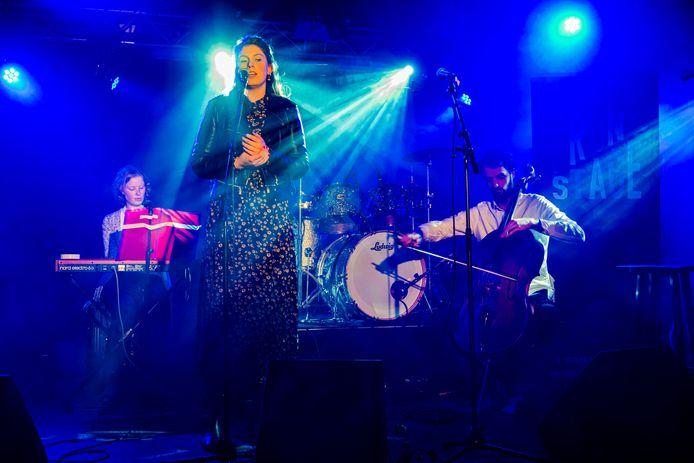 FrontStage band presentatie in de De Peppel in Zeist.