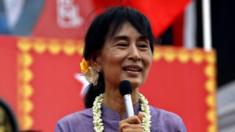 Aung San Suu Kyi Beeld epa