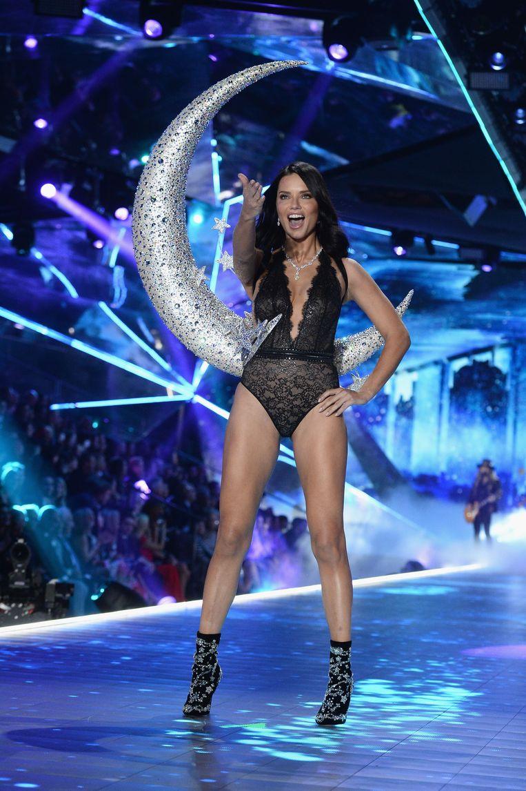 Adriana Lima uit Brazilië.