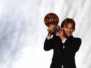 Modric draagt Gouden Bal ook op aan Sneijder