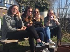 Zo luncht Utrecht in de lentezon