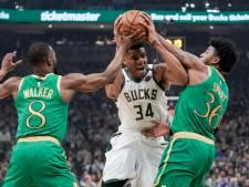 Milwaukee Bucks revancheert zich voor eigen publiek tegen Celtics