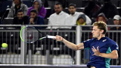 David Goffin strandt in halve finales Diriyah Tennis Cup