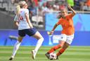 Victoria Pelova, doelpuntenmaker namens Nederland.