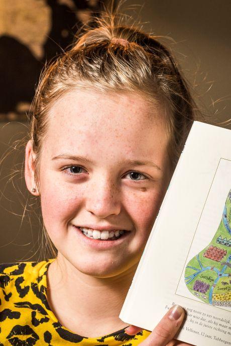 Grote eer voor Indy (12) uit Tubbergen; haar tekening staat in nieuwste boek van schrijfster Harry Potter