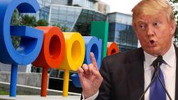 """Trump weer boos op Google, Facebook en Twitter: """"Zo partijdig dat het belachelijk is"""""""