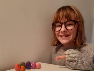 Loes (12) maakt 100 gelukspopjes om verpleegkundigen van AZ Sint-Lucas hart onder de riem te steken