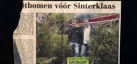 Sterrenkok De Rozario en horecabaas Blenckers verkopen samen kerstbomen, net als vroeger