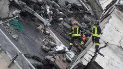 LIVESTREAM. Minstens 35 doden na instorting brug Genua - Reddingswerkers vrezen dat de rest van brug zal instorten