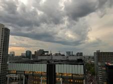 Code geel: noodweer in Rotterdam