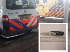 Man die met mes zwaait en Zuid-Beijerlander (35) raakt, zit vast