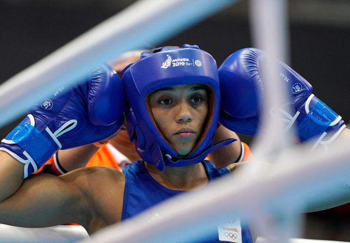 Jemyma Betrian droomt van de Olympische Spelen van 2020 in Tokio.
