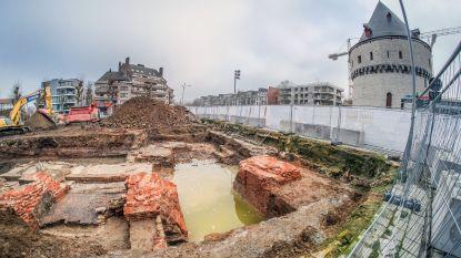 """Archeologisch onderzoek op werf nabij Broeltorens gestart: """"Er zijn zaterdag bezoekmomenten"""""""