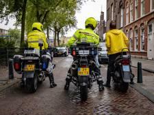 ME drijft weer relschoppers uit elkaar in Schilderswijk