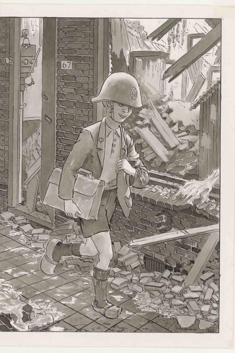 Heel Vlissingen kan lezen over het bizarre dagelijkse leven in oorlogstijd