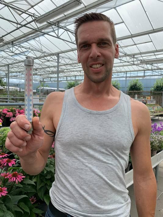 Stefan Vogels werkt bij Tuincentrum Drunen.