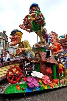 Hier kun je 'waogens kijke': de carnavalsoptochten van 2017 in West-Brabant (kaartje)